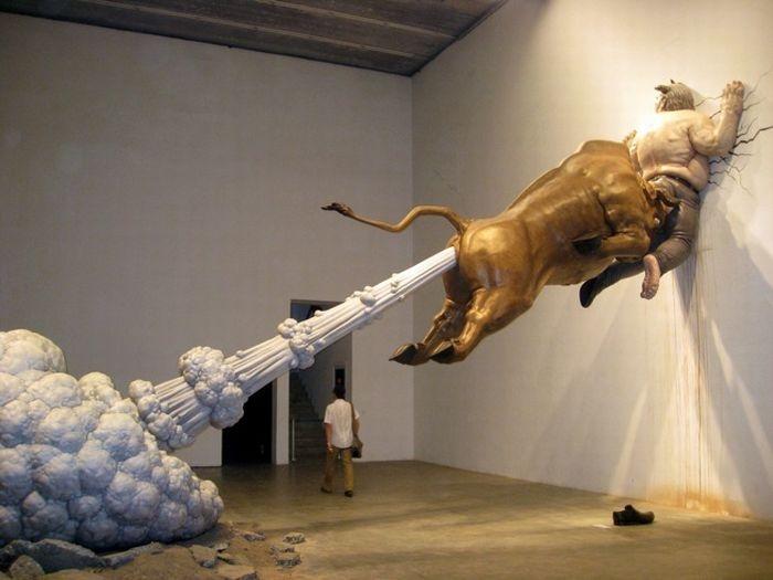 animaux art chen wenling sculpture
